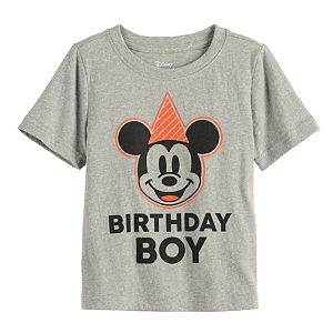 Disney's Mickey Mouse Baby Boy Birthday Boy Graphic Tee by Jumping Beans®