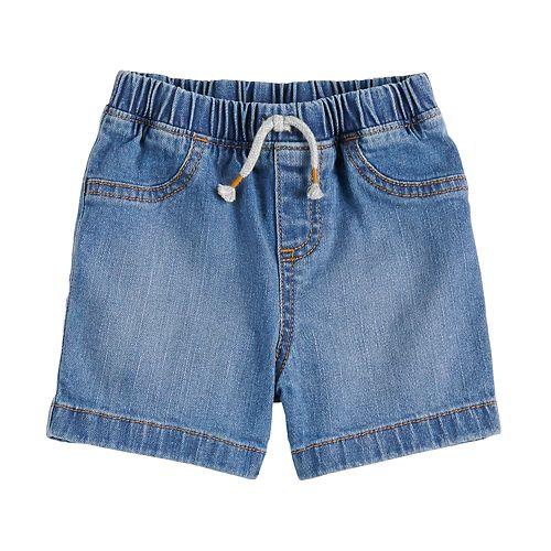 Baby Boy Jumping Beans® Pull On Denim Shorts