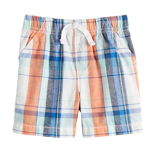 Baby Boy Jumping Beans® Patterned Woven Short