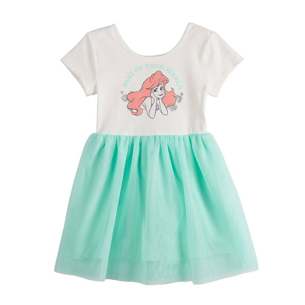 Disney's The Little Mermaid Ariel Toddler Girl Ballerina Tutu Dress by Jumping Beans®