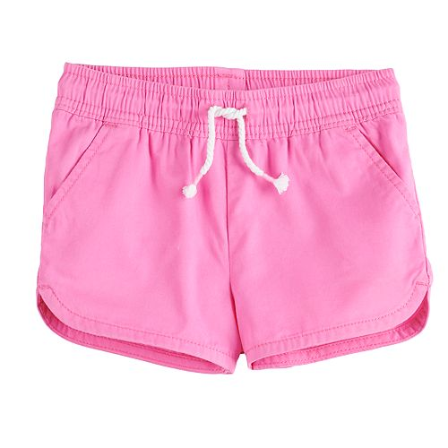 Toddler Girl Jumping Beans® Dolphin Hem Shorts