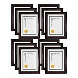 """Kiera Grace Lucy 8.5"""" x 11"""" Brown Document Frame 12-Pack"""