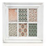 Kiera Grace 6-opening White Collage Frame