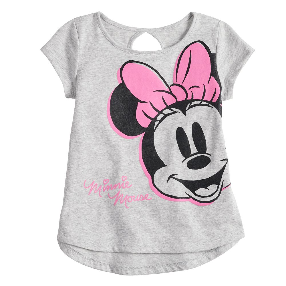 Disney's Minnie Mouse Toddler Girl Cut-Out Back Tee by Jumping Beans®