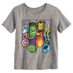Toddler Boy Jumping Beans® Avengers Heathered Graphic Tee