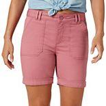 Women's Lee® Cuffed Chino Shorts