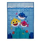 Kids Pinkfong Baby Shark Musical Shark Weighted Blanket