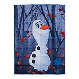 Kids Disney's Frozen Olaf In Nature Weighted Blanket