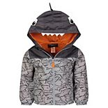 Toddler Boy OshKosh B'gosh® Shark Hooded Lightweight Jacket