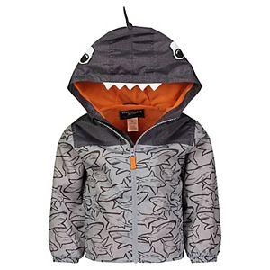 Toddler Boy OshKosh B'gosh® Shark Hooded Lightweight Jacket
