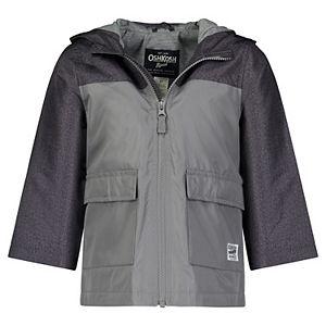 Toddler Boy OshKosh B'gosh® Colorblock Hooded Lightweight Jacket