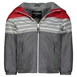 Toddler Boy OshKosh B'gosh® Striped Hooded Lightweight Jacket