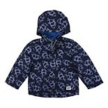 Toddler Boy OshKosh B'gosh® Color Changing Ombre Shark Hooded Lightweight Rain Jacket