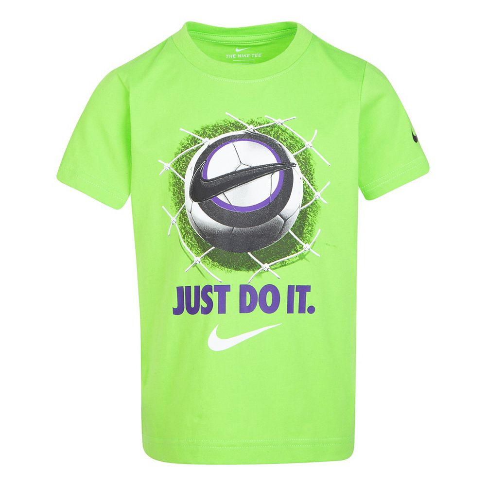"Boys 4-7 Nike ""Just Do It"" Soccer Graphic Tee"