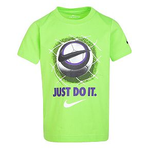 """Boys 4-7 Nike """"Just Do It"""" Soccer Graphic Tee"""