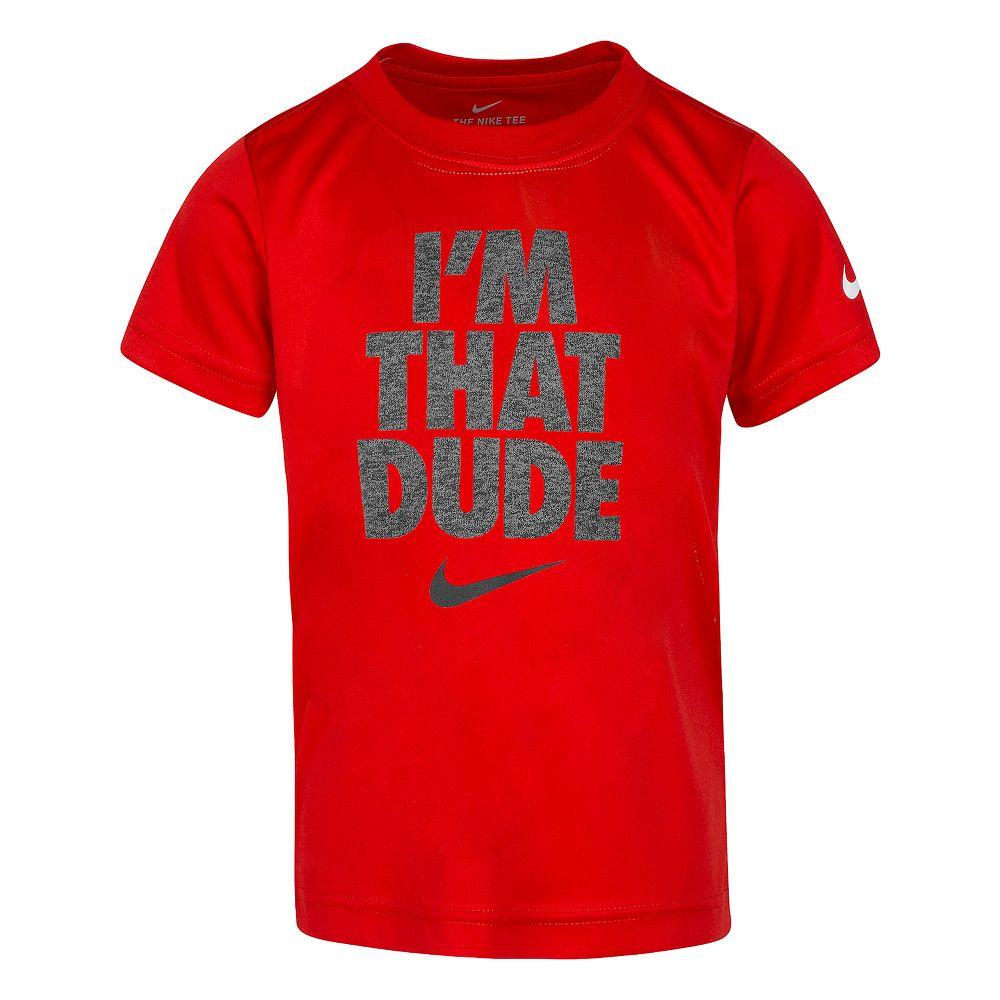 "Boys 4-7 Nike ""I'm That Dude"" Graphic Tee"