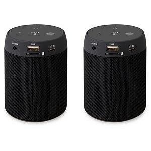 iLive Bluetooth 5.0 Wireless Speaker Pair