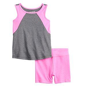 Baby Girl Jumping Beans® Tank Top & Shorts Set