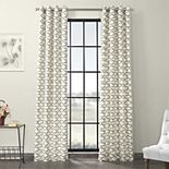 EFF Illusions Grommet Printed Cotton Window Curtain