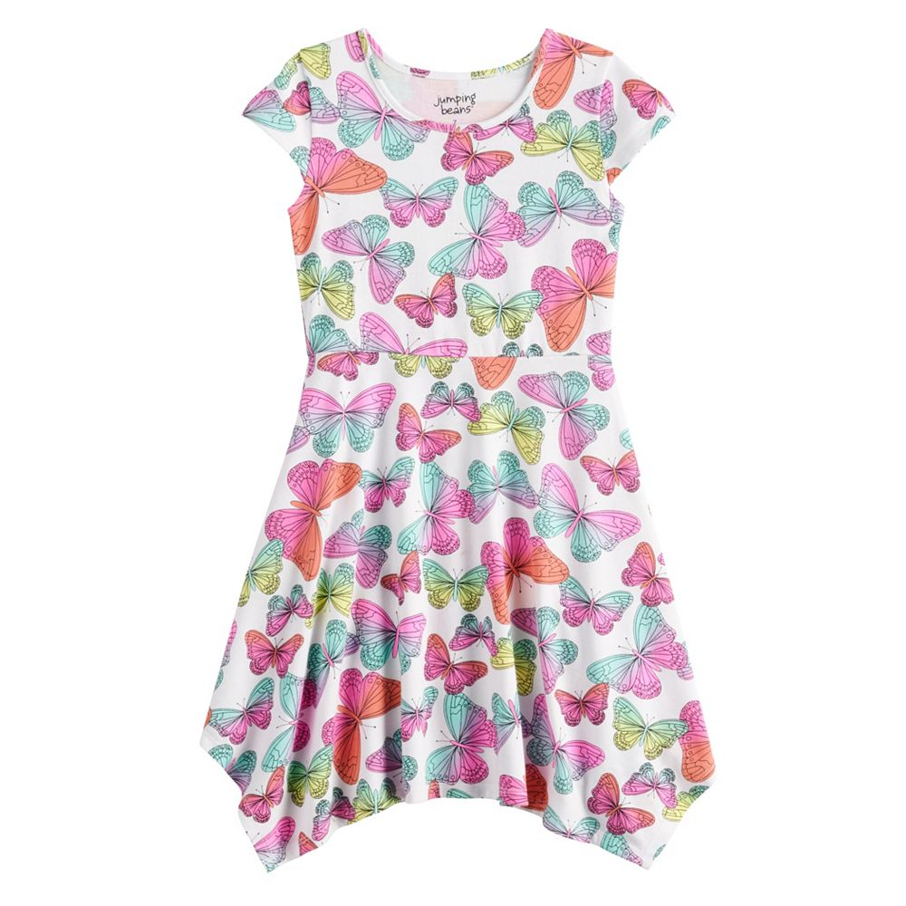 Girls 4-12 Jumping Beans® Handkerchief-Hem Dress