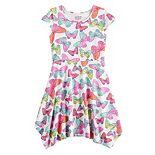 Girls 4-12 Jumping Beans® Handkerchief-Hem Dress