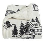 Home Fashion Designs Reversible Berber Velvet Plush Throw