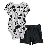 Disney's Mickey Mouse Baby Boy Bodysuit & Shorts Set by Jumping Beans®