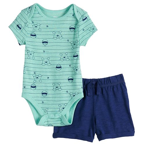Jumping Beans Boys One Piece Bodysuit Turquoise Blue Sizes 9 18 or 24 months