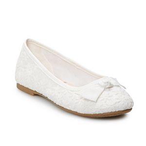 SO® Tiffaney Girls' Ballet Flats
