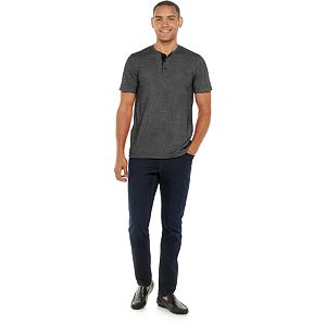 Men's Marc Anthony Snap Henley
