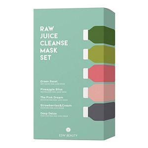 ESW Beauty Raw Juice Cleanse Sheet Mask Set