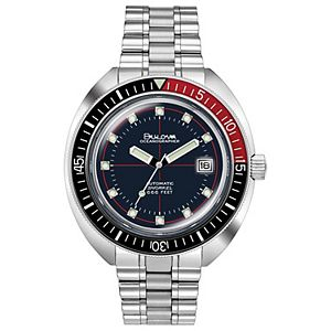 Bulova Men's Oceanographer Automatic Watch - 98B320