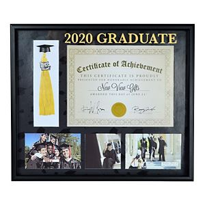 New View Gifts & Accessories Dipolma Collage 2020 Graduate