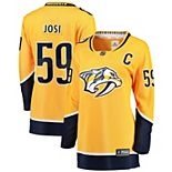 Women's Fanatics Branded Roman Josi Gold Nashville Predators Premier Breakaway Player Jersey