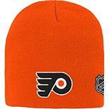 Youth Orange Philadelphia Flyers Basic Knit Beanie