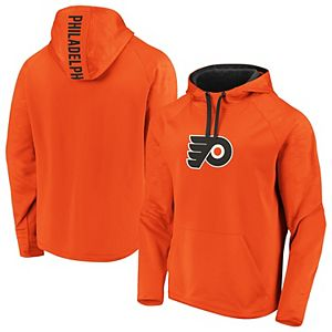 Men's adidas Orange Philadelphia Flyers Game Mode Pullover Hoodie
