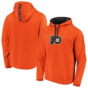 Men's adidas Orange Philadelphia Flyers Game Mode Pullover Hoodie