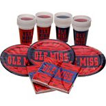 Ole Miss Rebels Party Pack for 24
