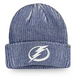Men's Fanatics Branded Blue Tampa Bay Lightning Authentic Pro Rinkside Cuffed Knit Hat
