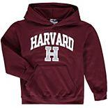 Youth Champion Crimson Harvard Crimson Arch Logo Pullover Hoodie