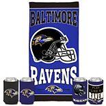 WinCraft Baltimore Ravens Beach Pack