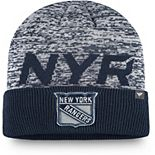 Men's Fanatics Branded Navy New York Rangers Authentic Pro Team Clutch Cuffed Knit Hat