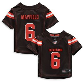 Infant Nike Baker Mayfield Brown Cleveland Browns Game Jersey