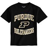 Youth Champion Black Purdue Boilermakers Circling Team Jersey T-Shirt
