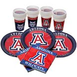 Arizona Wildcats Party Pack for 24