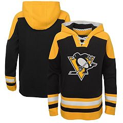 Outerstuff Pittsburgh Penguins Infant Classic Stripe Pullover Fleece Hoodie