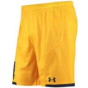 Men's Under Armour Gold Cal Bears 2017 Replica Soccer Shorts