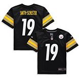 Preschool Nike JuJu Smith-Schuster Black Pittsburgh Steelers Player Game Jersey