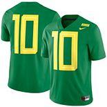 Men's Nike Apple Green Oregon Ducks 2018 Mighty Oregon Limited Football Jersey