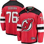 Men's Fanatics Branded P.K. Subban Red New Jersey Devils Premier Breakaway Player Jersey